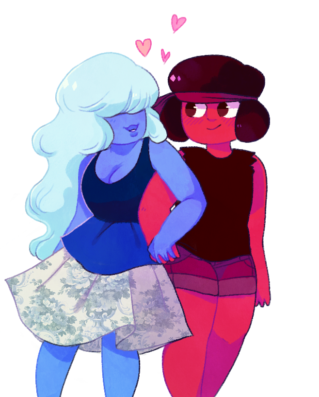 Pin by mary takehime on ruby x sapphire su pinterest - Ruby and sapphire su ...