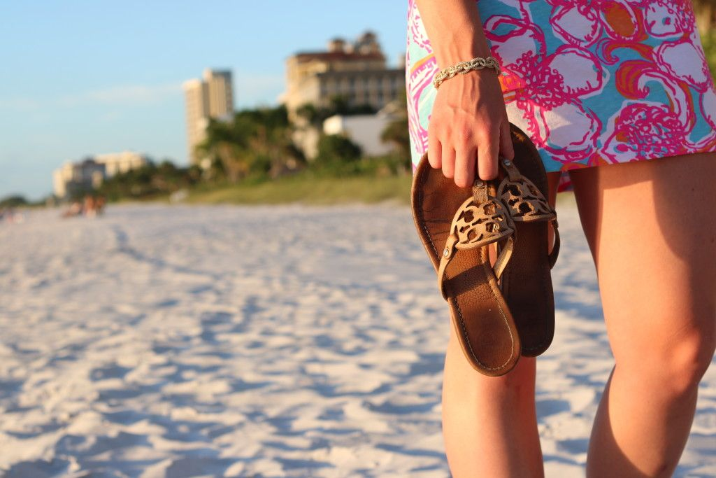 Lilly at the Beach - Class Meets Couture