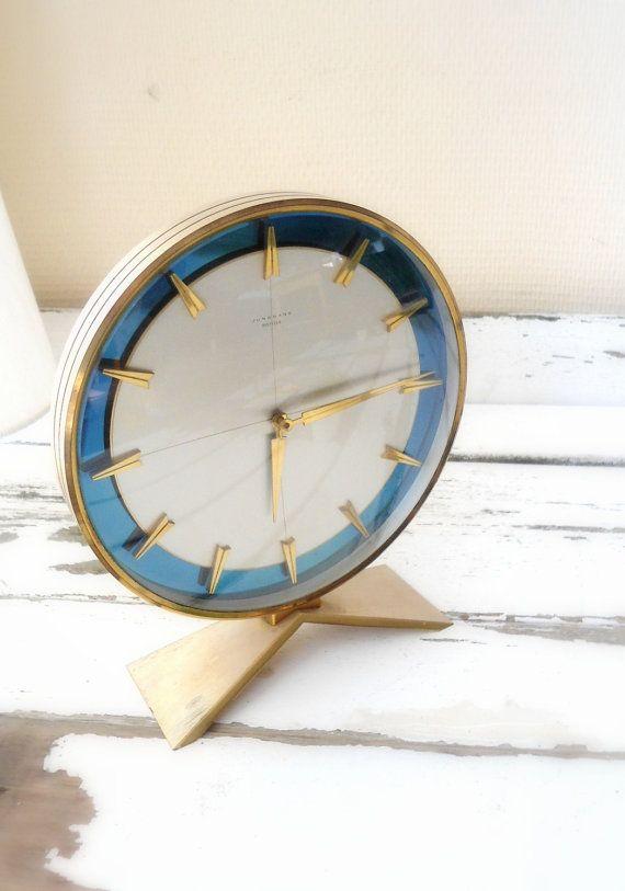 Metallic Clock | Junghans | Mid Century Modern