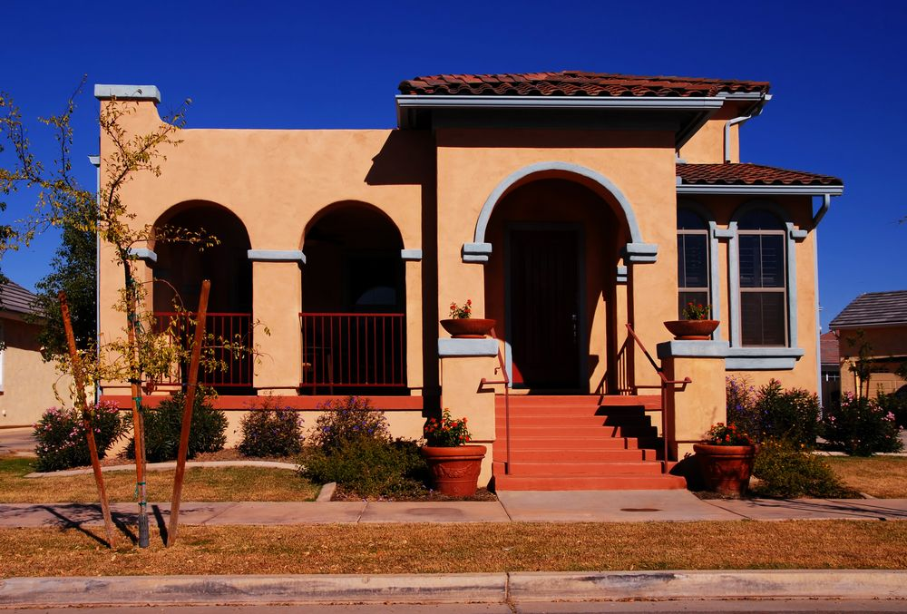 Spanish Style Architecture You May Think Is Most Common In Florida And Southern California Because The Homes Lend Themselves To