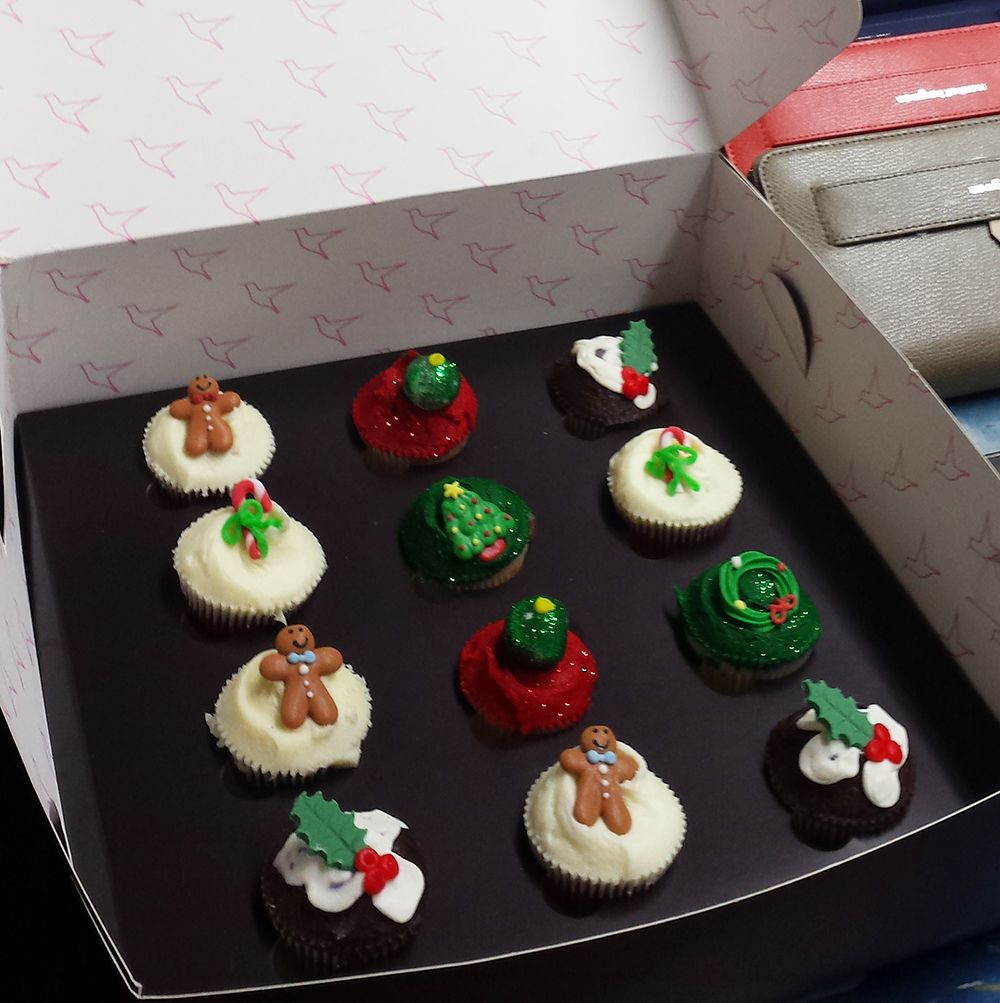 Christmas treats courtesy of our friends @HouseofFraser!