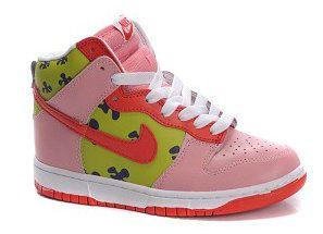 Recuperar administrar El extraño  Nike Dunk Patrick Star Sneakers Pink Green | Patricio estrella, Estrellas