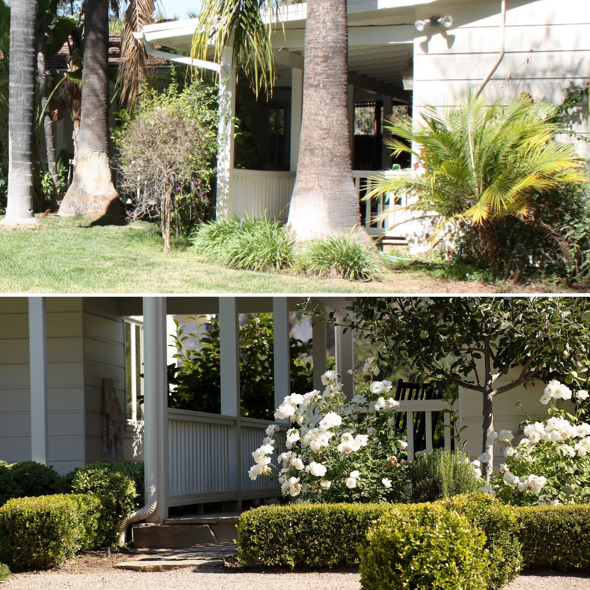 Before And After Of A Backyard Pathway Project Name Hamptons In