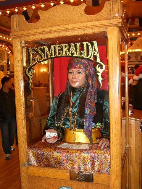 Old Fashioned Fortune Teller Machine Moribound