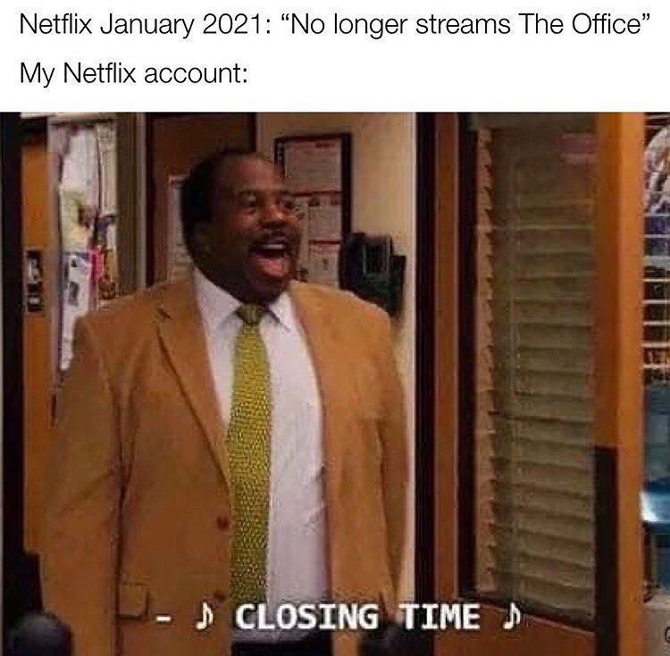 7 700 Likes 51 Comments The Office Fan Page Michaelscottmemer On Instagram My Netflix Account Died Already Office Memes The Office Show The Office