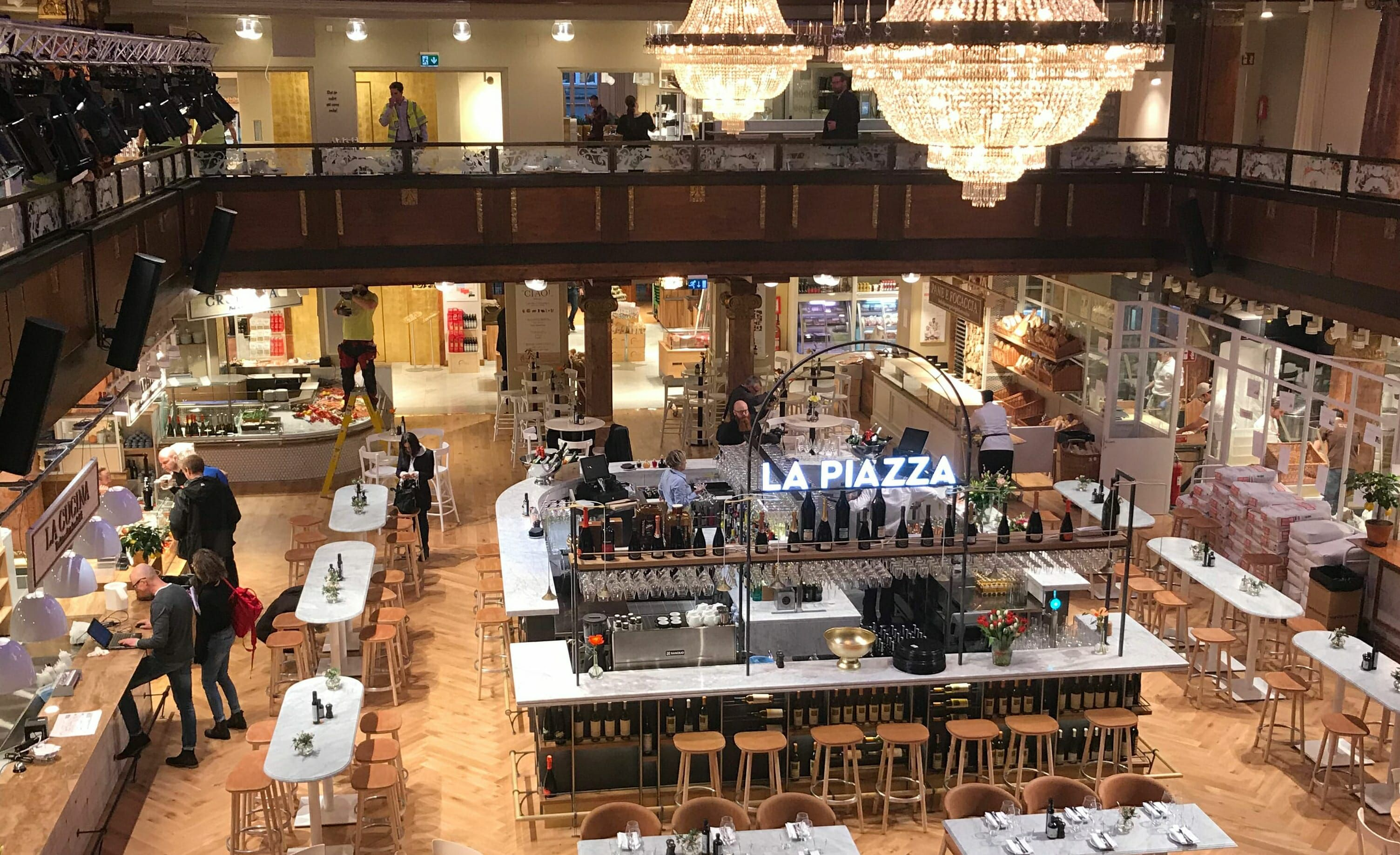 Eataly Stockholm - the space is to die for, the staff is super ...