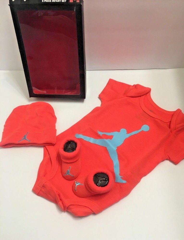 new product be5e0 94694 Nike Air Jordan Jumpan 3 Piece Infant Set 0-6 M FREE SHIPPING #Nike  #Tracksuit #CasualFormal #nike #jordans #jumpan #nikeair