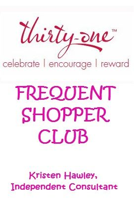 SIGN-UP TODAY FOR MY THIRTY-ONE FREQUENT SHOPPER CLUB!    http://www.facebook.com/groups/562102287149084/    http://www.mythirtyone.com/ksquared