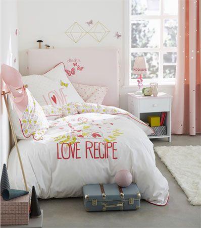miss butterfly linge de lit enfant dcoration chambre fille vertbaudet - Chambre Vert Baudet