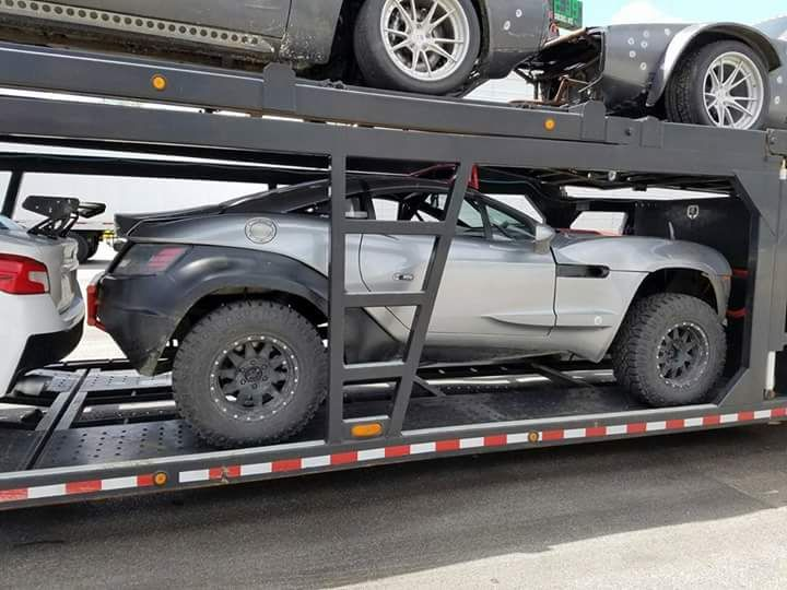 Fast And Furious 8 Cars Spotted On Trailer In Fredericksburg