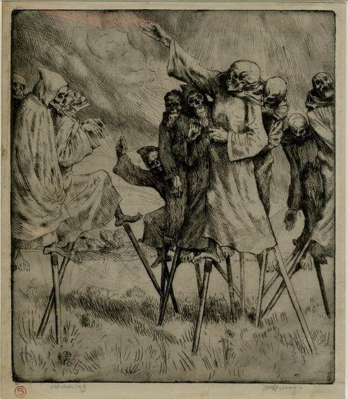 Danse Macabre by William Strang