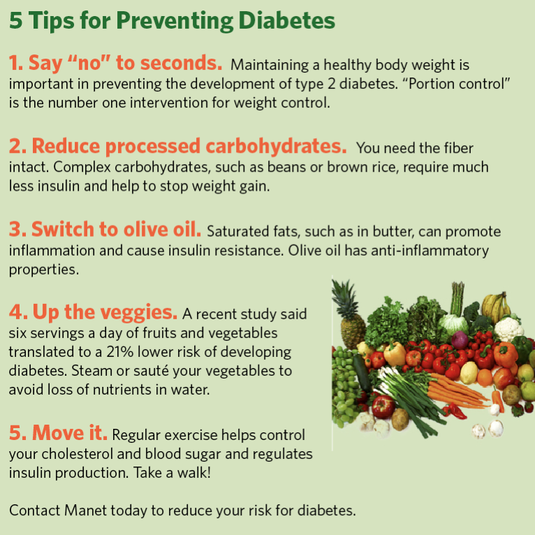 Tips And Tricks To Encourage Better Nutrition: 5 Tips To Help You Prevent Diabetes