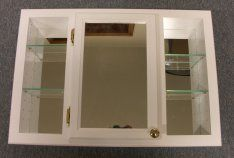 Beau Recessed Mirror Cabinet With Shelves On Each Side. Wonder If This Could  Work As A