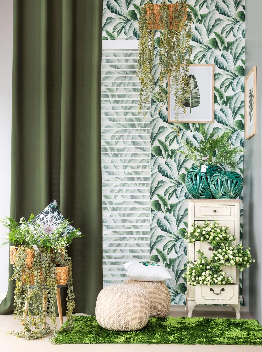 Urban Jungle W Twoim Domu Firany Zaslony W Kwiaty Do Salonu Kuchni Czy Sypialni Urban Jungle Urban Plants