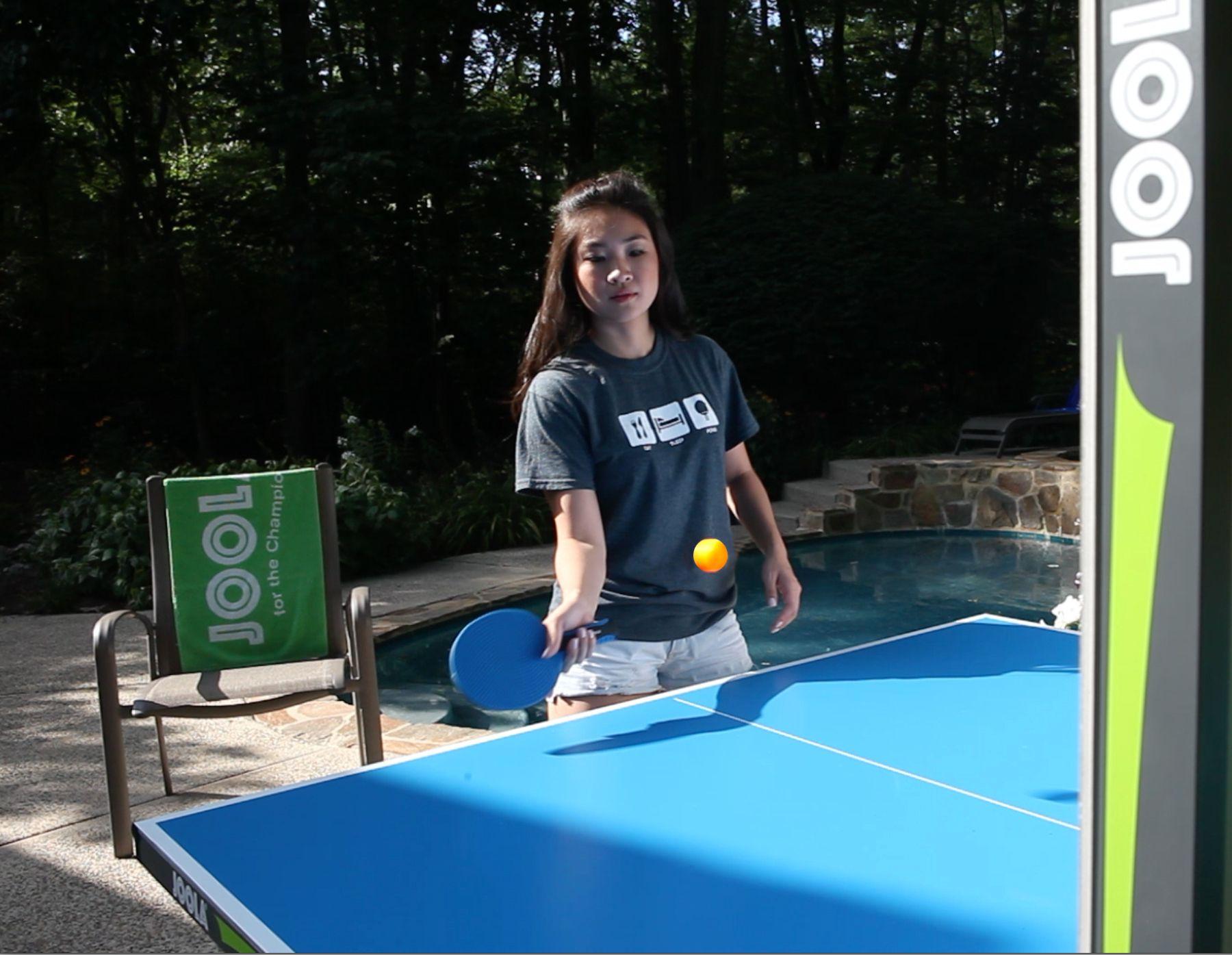 Outdoor Aluminum Table Tennis Table With Weatherproof Net Set Msrp 749 95 Diy Outdoor Table Easy Backyard Outdoor
