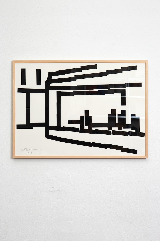 Heitsch Gallery in 2020 Grafik design, Siebdruck