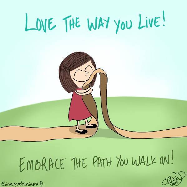 Palasia sateenkaaresta: Love The Way You Live