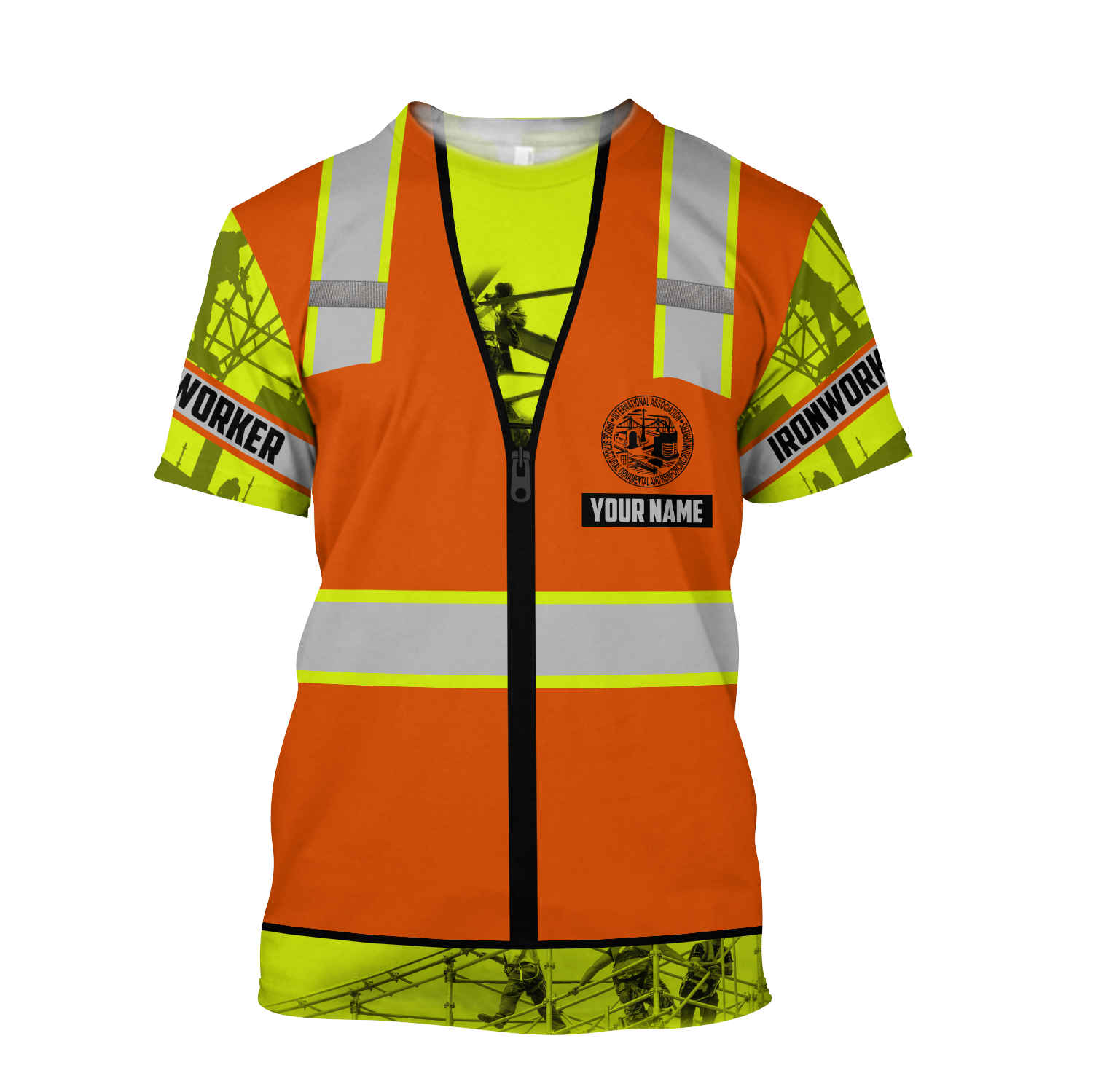 Personalized Ironworker Safety Just The Tip I Promise 3D Printed Unisex Shirts TN - T-shirt / 4XL