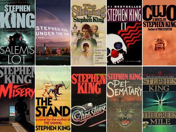 Favorite Stephen King Books Pet Cemetery Green Mile 11 22 63