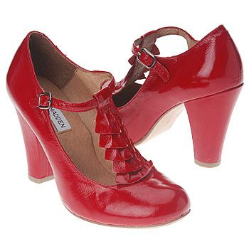 Red Steve Madden Mary Janes. @amira stillwater - close but not quite! :