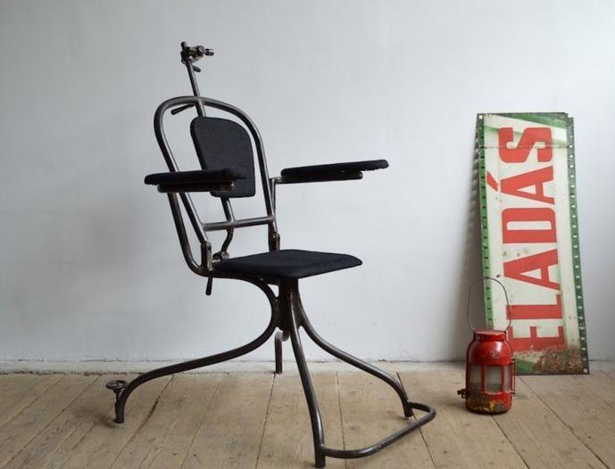 Antique Medical Chair Artkraft Loftdesign Chair Furniture