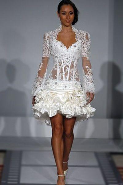 Pnina Tornai - Short Wedding Dress