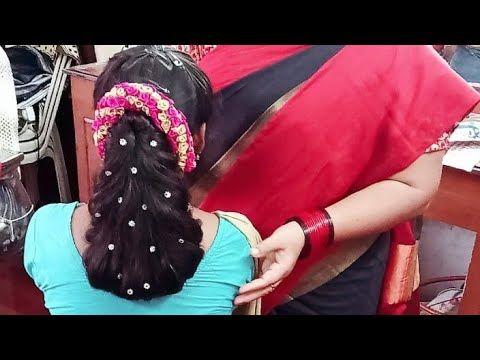 Simple hair style in few minutes full explanation in telugu - YouTube   Hair styles, Easy ...