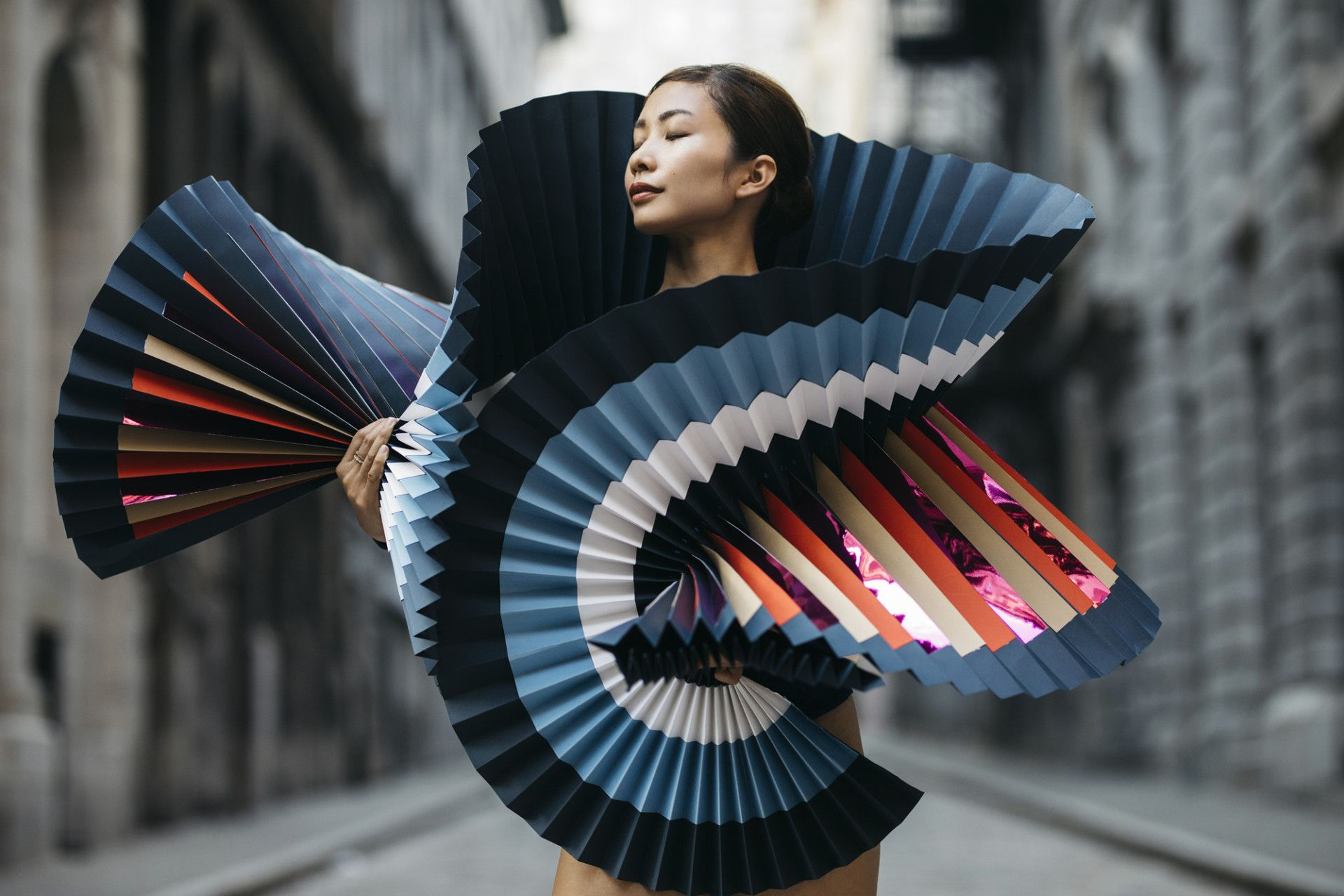 LifeSize Origami a Fashion Statement in Dramatic