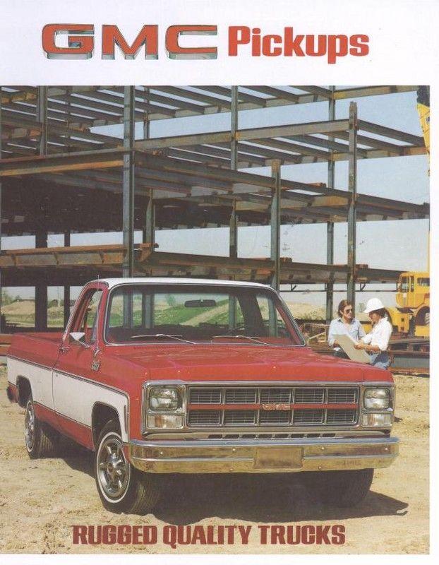 1980 Gmc Pickups 01 Gmc Pickup Gmc Gm Trucks