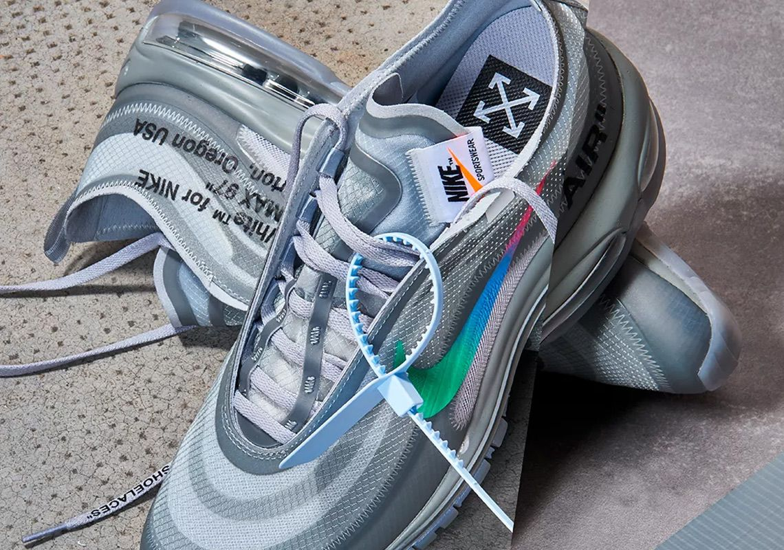 Off White Nike Air Max 97 Menta Release Date Nike Air Max White Nike Air Max 97 Blue Sneakers