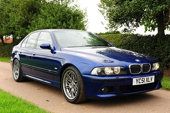 Bmw M5 E39 Blue V8 4 Door The E39 M5 Uses The S62 V8 Engine