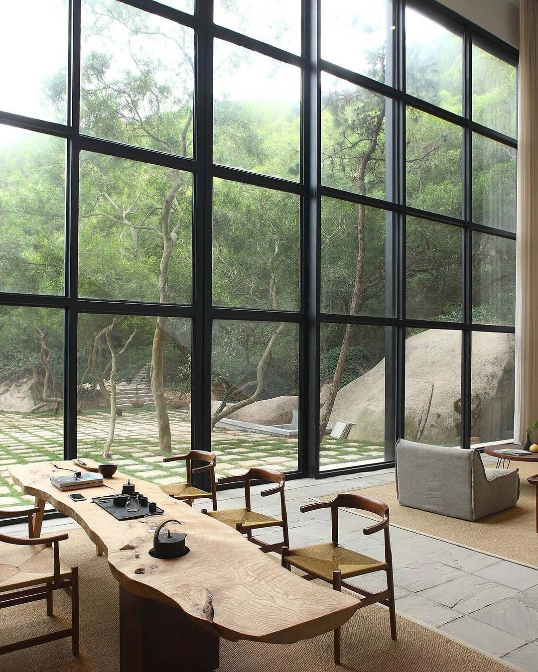 tribetribute we love this peaceful home in rural china by designer rh pinterest co uk