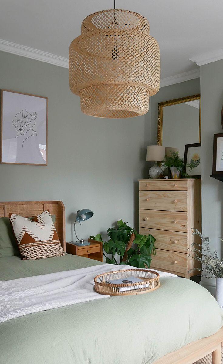 Create a boho bedroom oasis on a budget #bedroom #makeover ... on Bohemian Bedroom Ideas On A Budget  id=59212