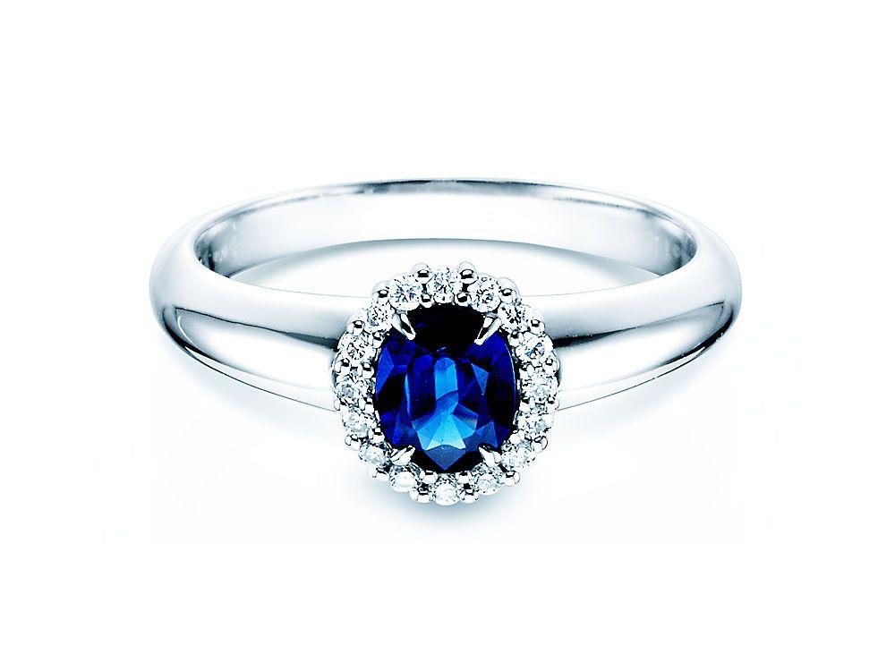 diamantring verlobung blau. Black Bedroom Furniture Sets. Home Design Ideas