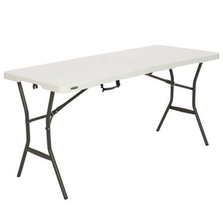 Home Lifetime Tables Primitive Dining Rooms Fold In Half Table