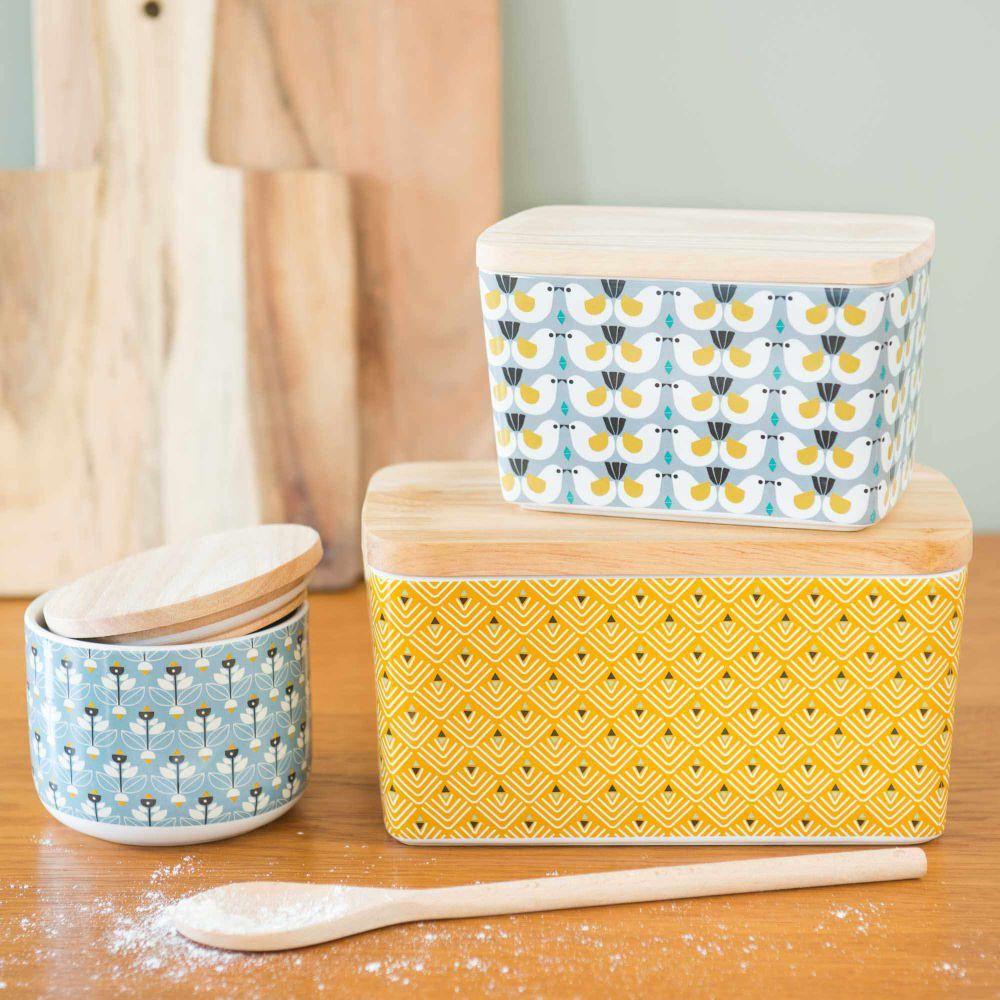 Tableware Yellow Kitchen Accessories Portobello Mustard