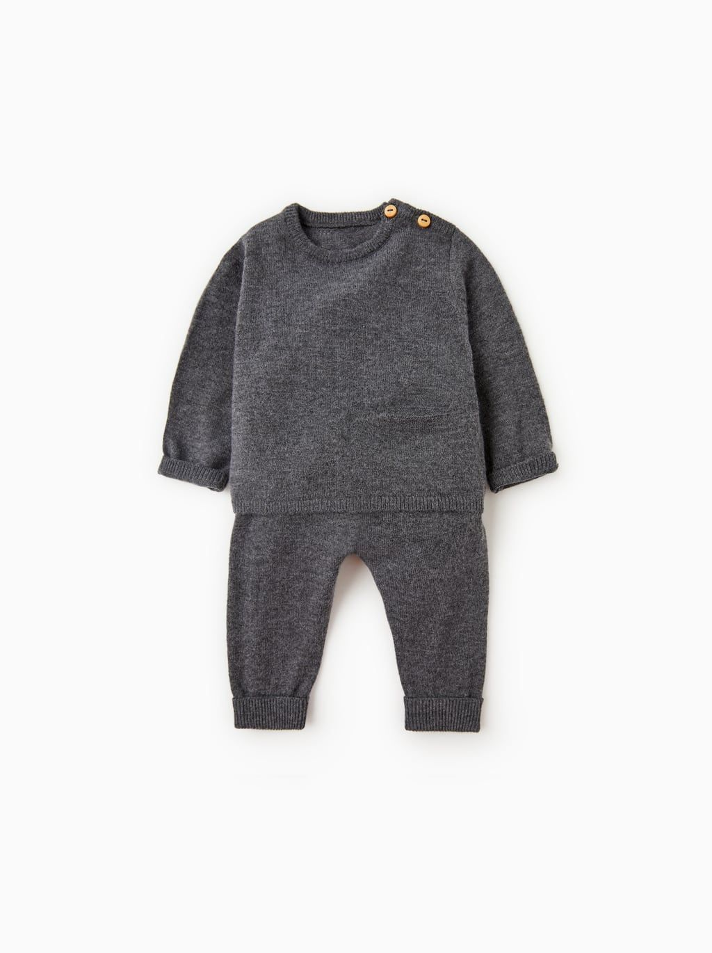 Merino Wool Set Knitted Baby Clothes Baby Knitwear Baby Fashion
