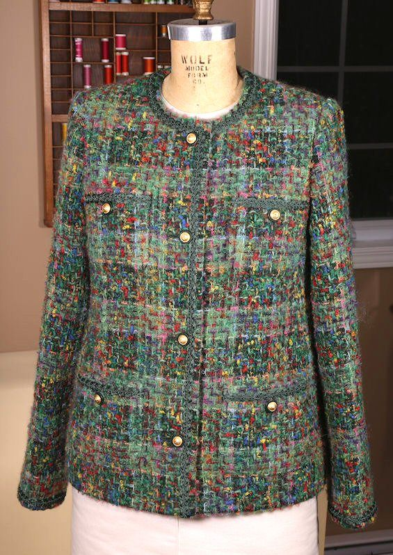 Tweed & Bouclé: The Classic Cardigan Jacket EmmaOneSock Sewing ...