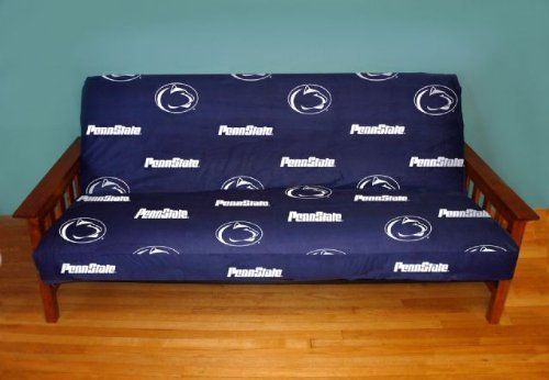penn state futon cover   full size fits 8 and 10 inch mats   penn state penn state futon cover   full size fits 8 and 10 inch mats   penn      rh   pinterest