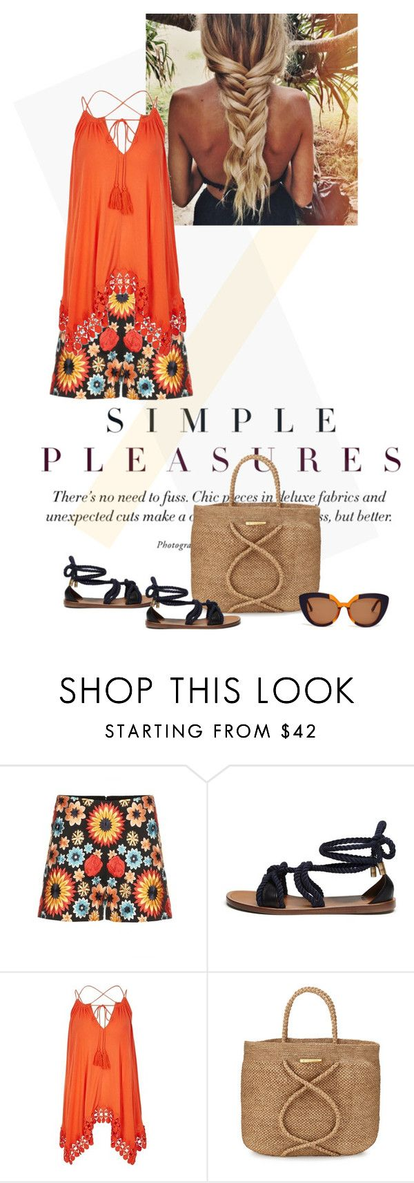 """."" by fashionmonkey1 ❤ liked on Polyvore featuring Alice + Olivia, Mulberry, River Island, ViX and Marni"