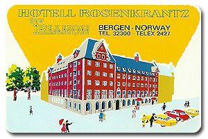 HOTEL ROSENKRANTZ - BERGEN NORWAY