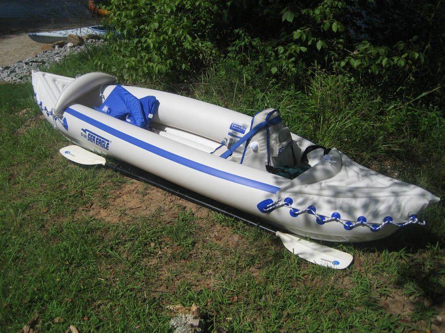 Sea Eagle Inflatable 330 Kayak Best Fishing Kayak Fishing Kayak