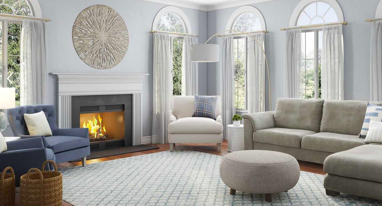 Living Room Utm Source Pinterest Interior Designer Ideas Havenly In 2020 Preppy Living Room Living Room Scandinavian Living Room Designs