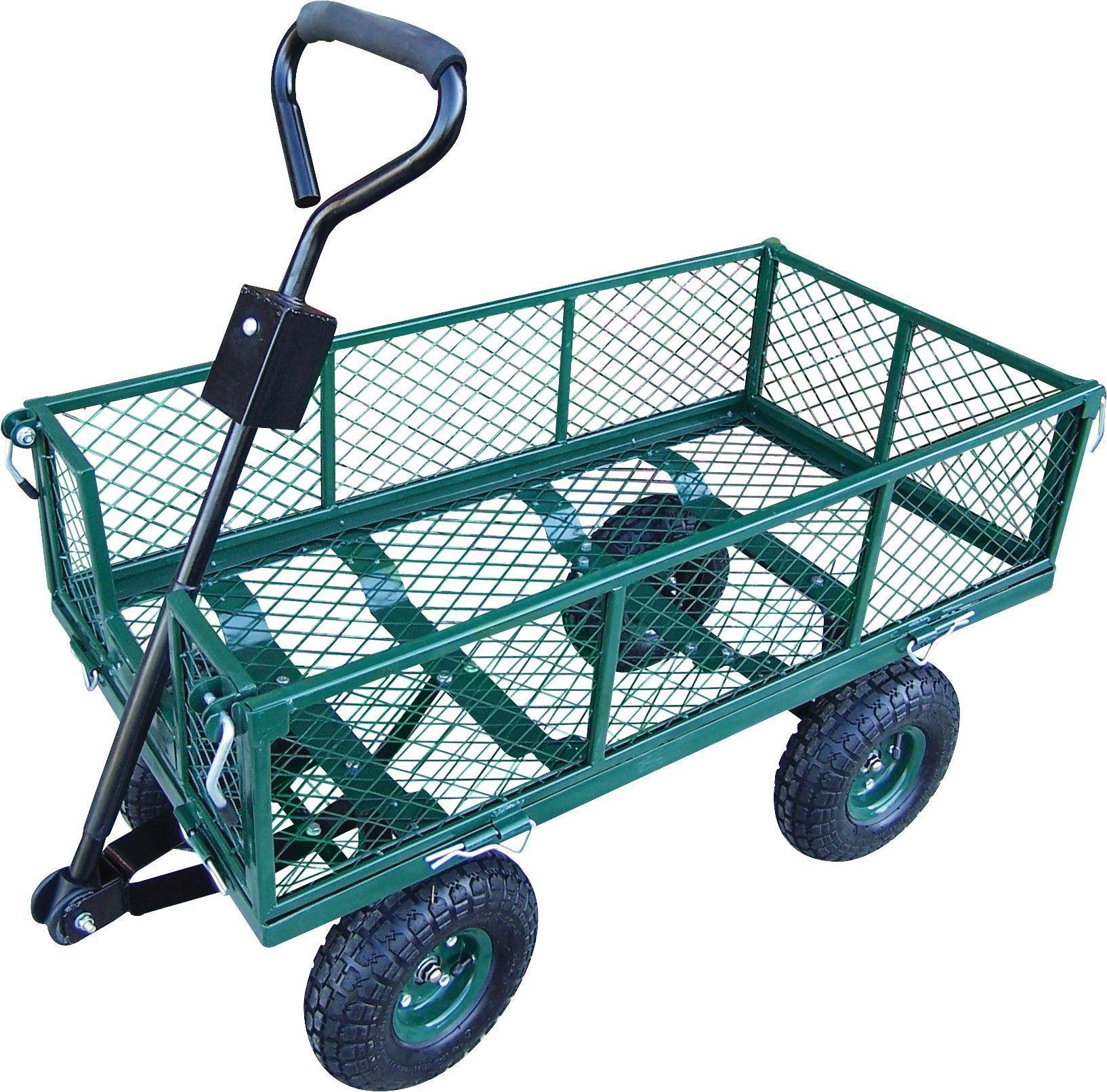 Lovely Utility Metal Garden Cart