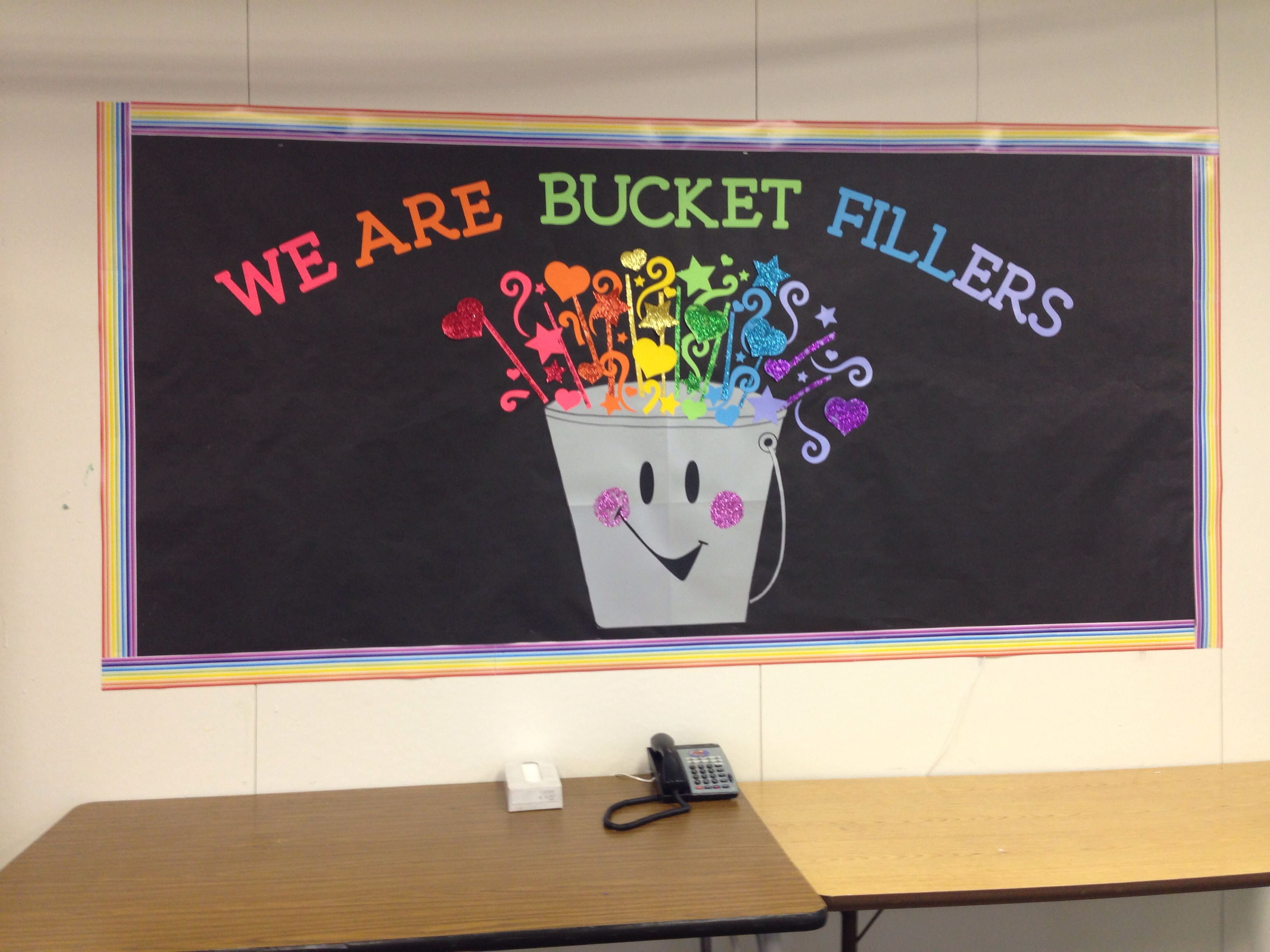 Have You Filled A Bucket Today Themed Wall Deco Zayra