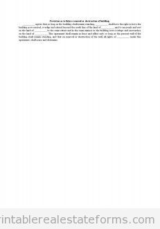 Sample Printable provision as to future removal or destruction of ...