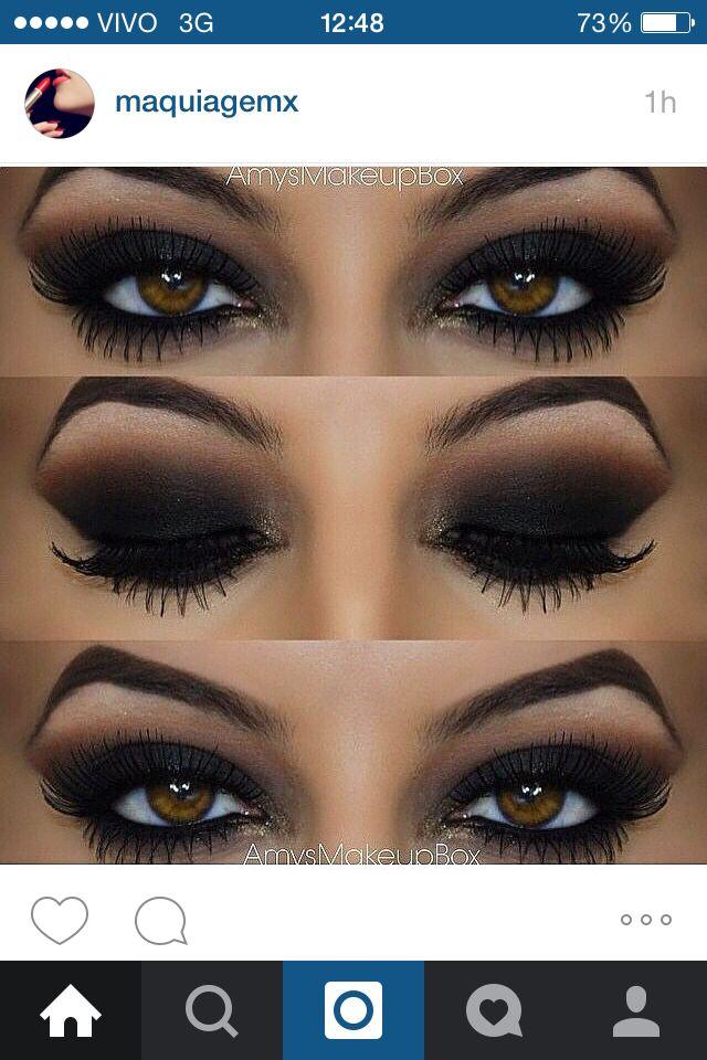 Sombra Negra Ojos Sombras