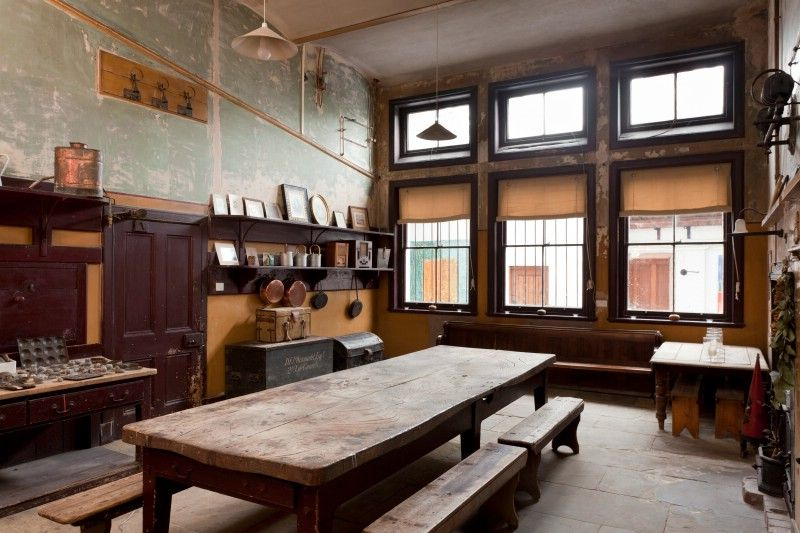 The Victorian Kitchen Found Completely Intact Perfect