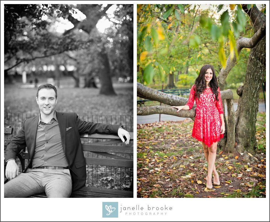 Donna & Nick's NYC E-Session » Janelle Brooke Photography