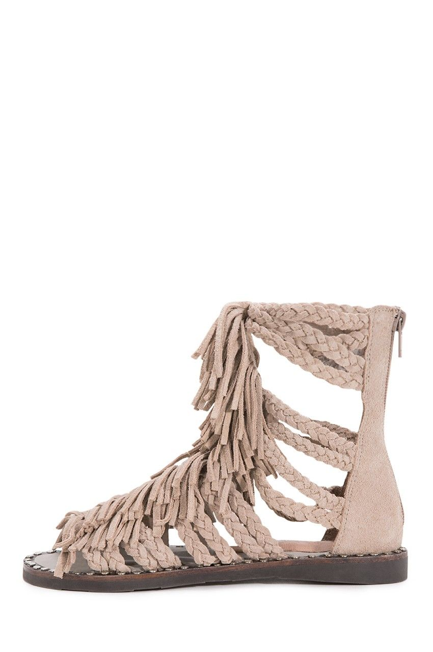 a41034dab615 Jeffrey Campbell Shoes SANTANA New Arrivals in Sand Suede